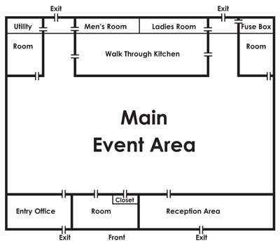 Banquet kitchen plan joy studio design gallery best design for Banquet hall floor plan